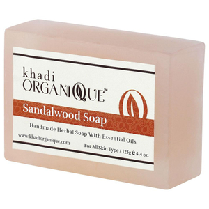 Khadi Organique Sandalwood Soap 125g