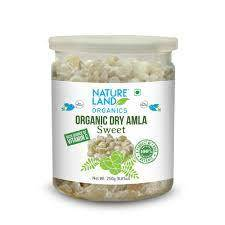 Nature Land Organics Amla Candy Sweet 250g