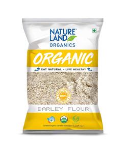 Nature Land Organics Barley Flour 500g