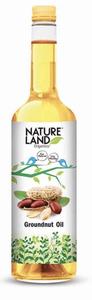 Nature Land Organics Groundnut Oil 1l