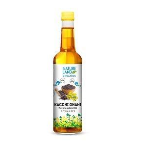Nature Land Organics Mustard Oil 1l