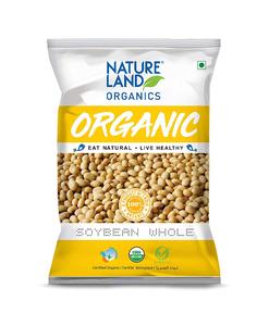 Nature Land Organics Soybean Flour 500g