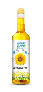Nature Land Organics Sunflower Oil 1l