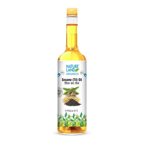 Nature Land Organics White Sesame Oil 1l