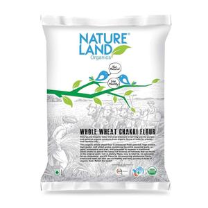 Nature Land Organics Whole Wheat Flour 1kg