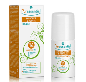 Puressentiel Muscle & Joint Roller With 14 Essential Oils 75ml