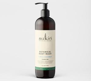 Sukin Lime & Coconut Body Wash 500ml