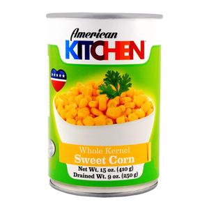 American Kitchen Sweet Corn 3x410g