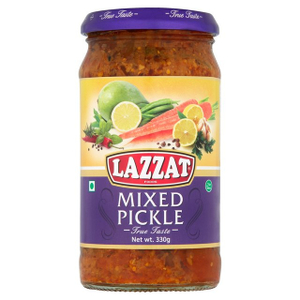 Lazzat Mixed Pickle 330g