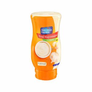 American Garden Mayonnaise Garlic Squeeze 400ml