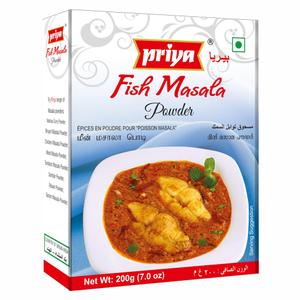 Priya Fish Mix Masala Powder 200g