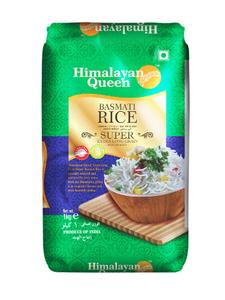 Himalayan Queen Basmati Rice 1kg