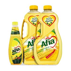 Afia Corn Oil 2x1.5L+750ml