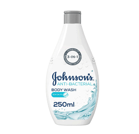 Johnson's Anti-Bacterial Body Wash Lemon 250ml