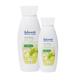 Johnson's Body Wash Grape 400ml+250ml