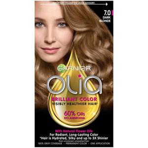 Garnier Olia Permanent Hair Color 7.0 Dark Blonde 1pc