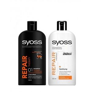 Syoss Micro Repair Peptitide Conditioner 500ml + 500ml