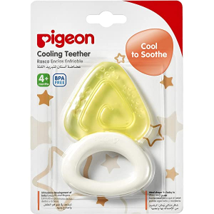 Pigeon Cooling Teether Triangle 13622 1pc
