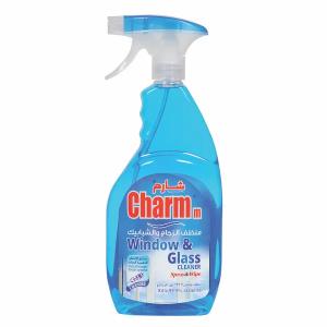 Charmm Glass Cleaner Spray & Wipes 750ml