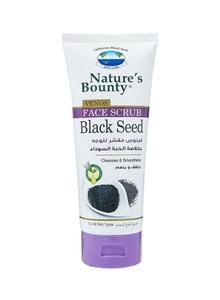 Nature's Bounty Face Scrub Black Seed 200ml