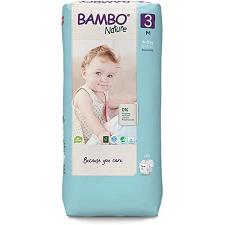 Bamboo Nature Baby Diapers Medium 52s