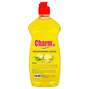 Charmm Dishwash Liquid Lemon 400ml