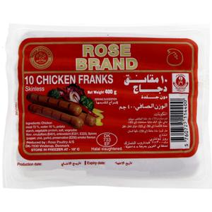 Rose Chicken Franks 400g