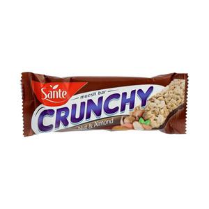 Sante Crunchy Bar Nuts & Almond Choco 40g