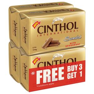 Cinthol Soap Sandal 4x175g