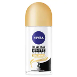 Nivea Roll On Black & White Silk Smooth 2x50ml