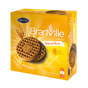 Glenda Branville Bran Biscuit 44g