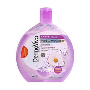 Dermoviva Facial Cleanser Toner Gentle Smooth 225ml