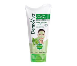 Dermoviva Face Mask Tea Tree Clarifying 150ml