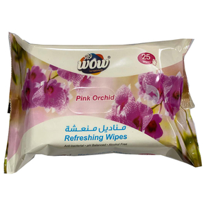 Wow Refresh Wipes Anti-Bacterial 3x25s