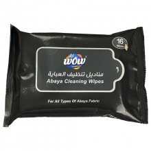 Wow Abaya Cleaning Wipes 3x10s