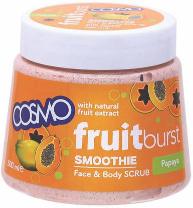 Cosmo Face & Body Scrub Fresh Burst Papaya 500ml