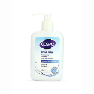 Cosmo Anti-Bacterial Active Fresh Hand Wash 250ml