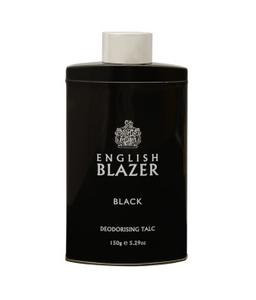 English Blazer Black Talc 150g