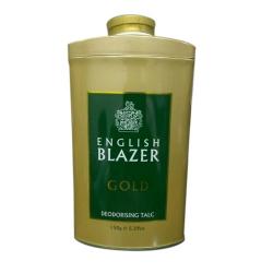 English Blazer Gold Talc 150g