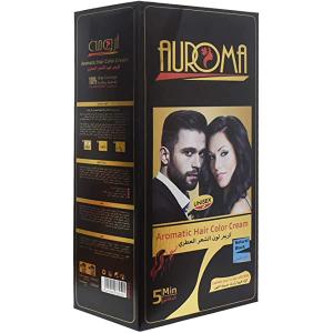 Auroma Hair Color Cream Black Apple 1pc