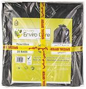 Natures Enviro Bio-Degradable Garbage Bag Black 60x90cm 1pc