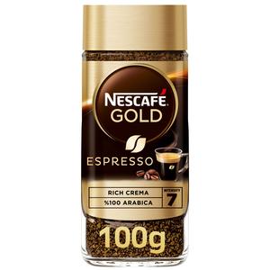 Nescafe Gold Espresso Jar 100g