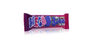 Mega Big Babol Chewing Gum Fun Berries 27g