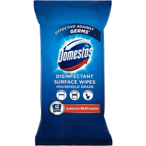 Domestos Disinfecting Surface Wipes 40s
