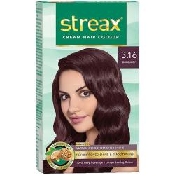 Streax Hair Color Instant Cream Burgundy 3.16 1 1pc