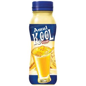 Amul Kool Milk Drink Kesar Bottle 200ml