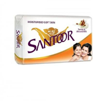 Santoor Soap White 4x175g