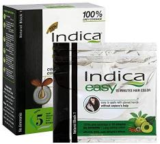 Indica Easy Hair Colour Black 32.5ml