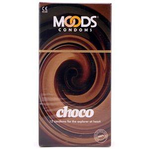 Moods Condoms Chocolate 12s