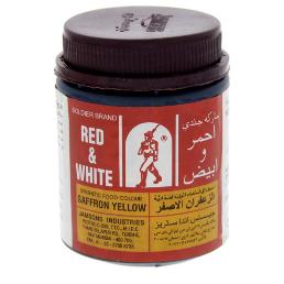 Red & White Saffron Yellow Color 100g